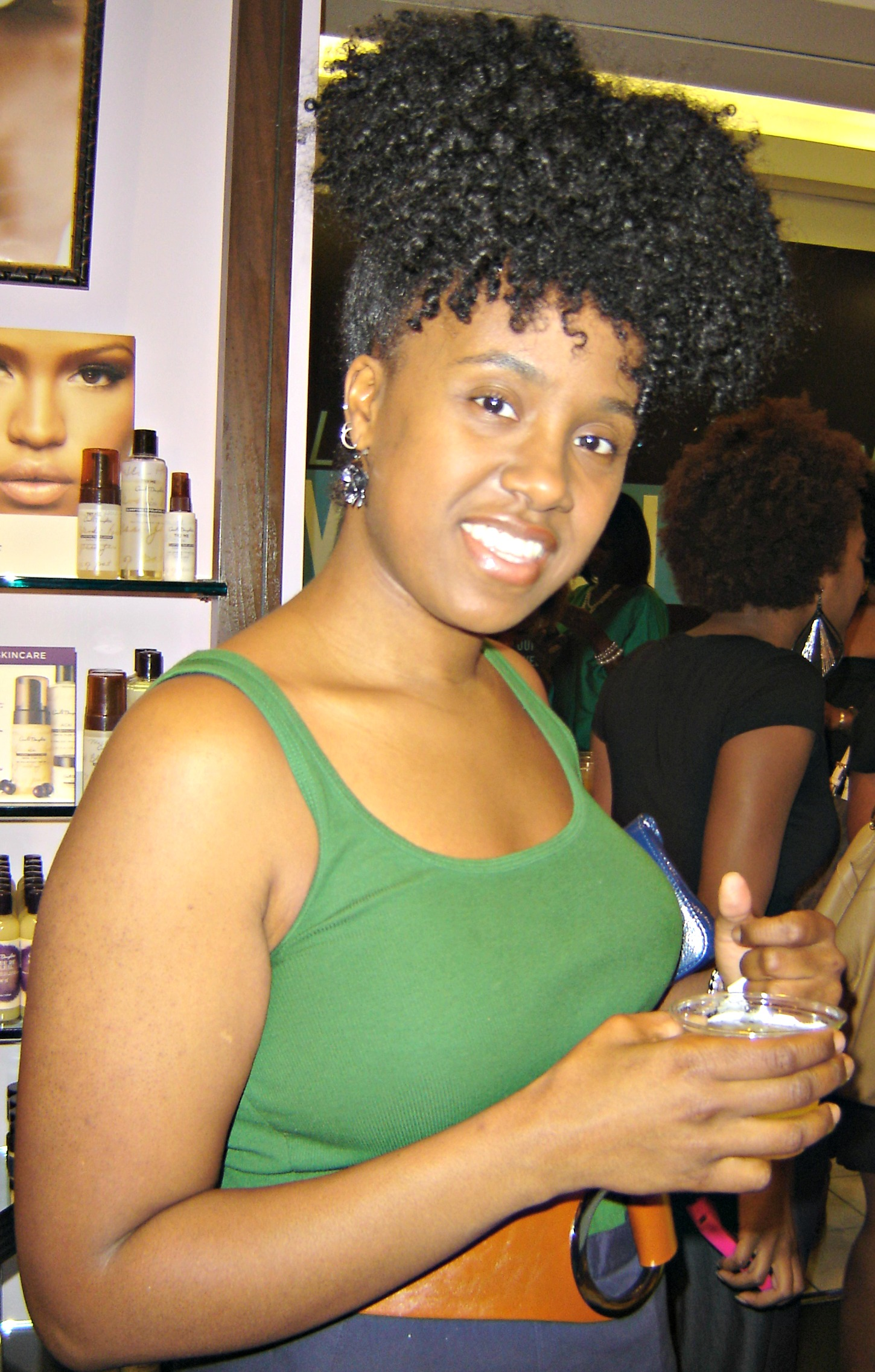 CurlBox, Carol's Daughter, Curly Meet-up, Natural Hair, Mahagony Curls