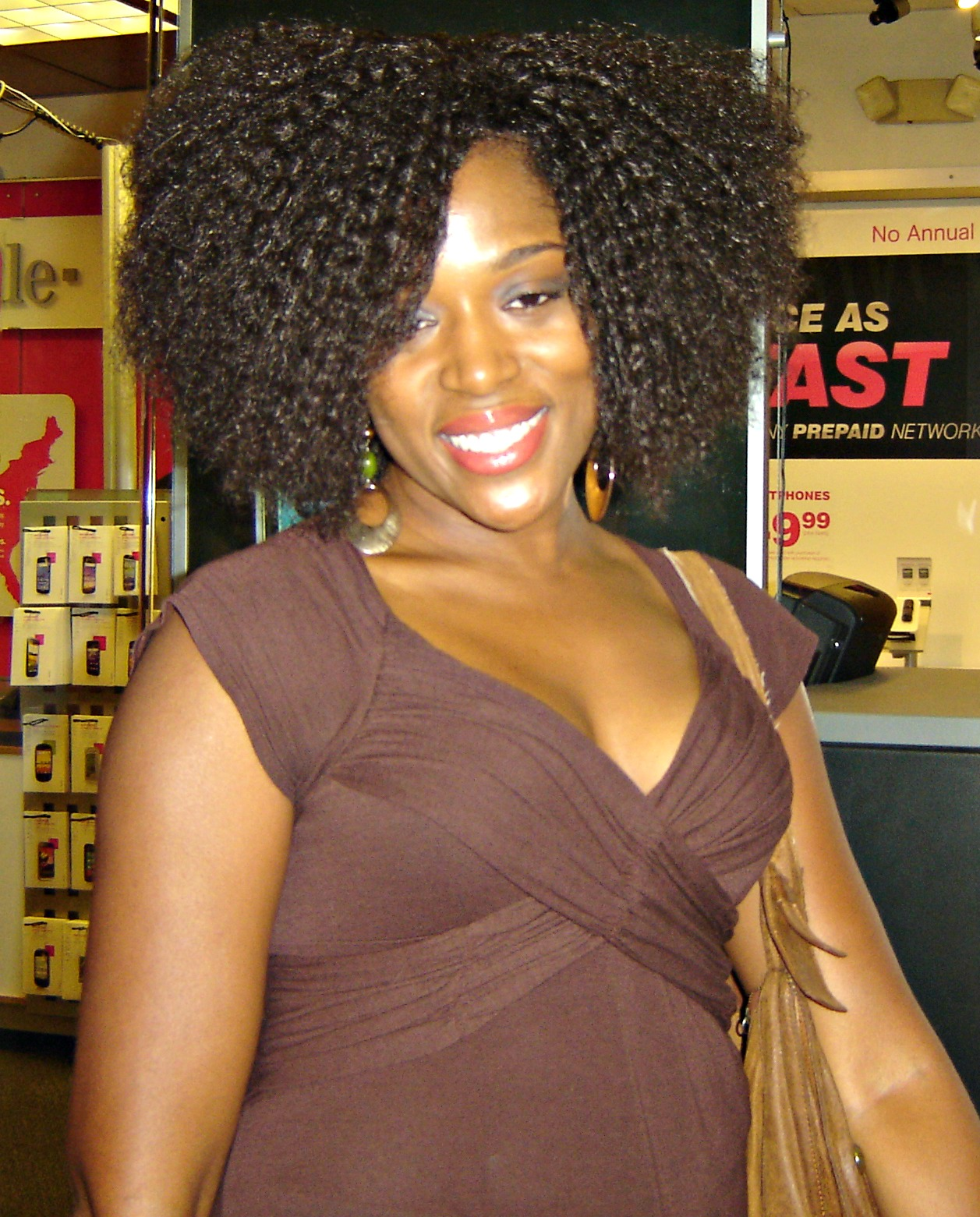 Carol's Daughter, Curly Meet-up, Natural Hair, Big Hair