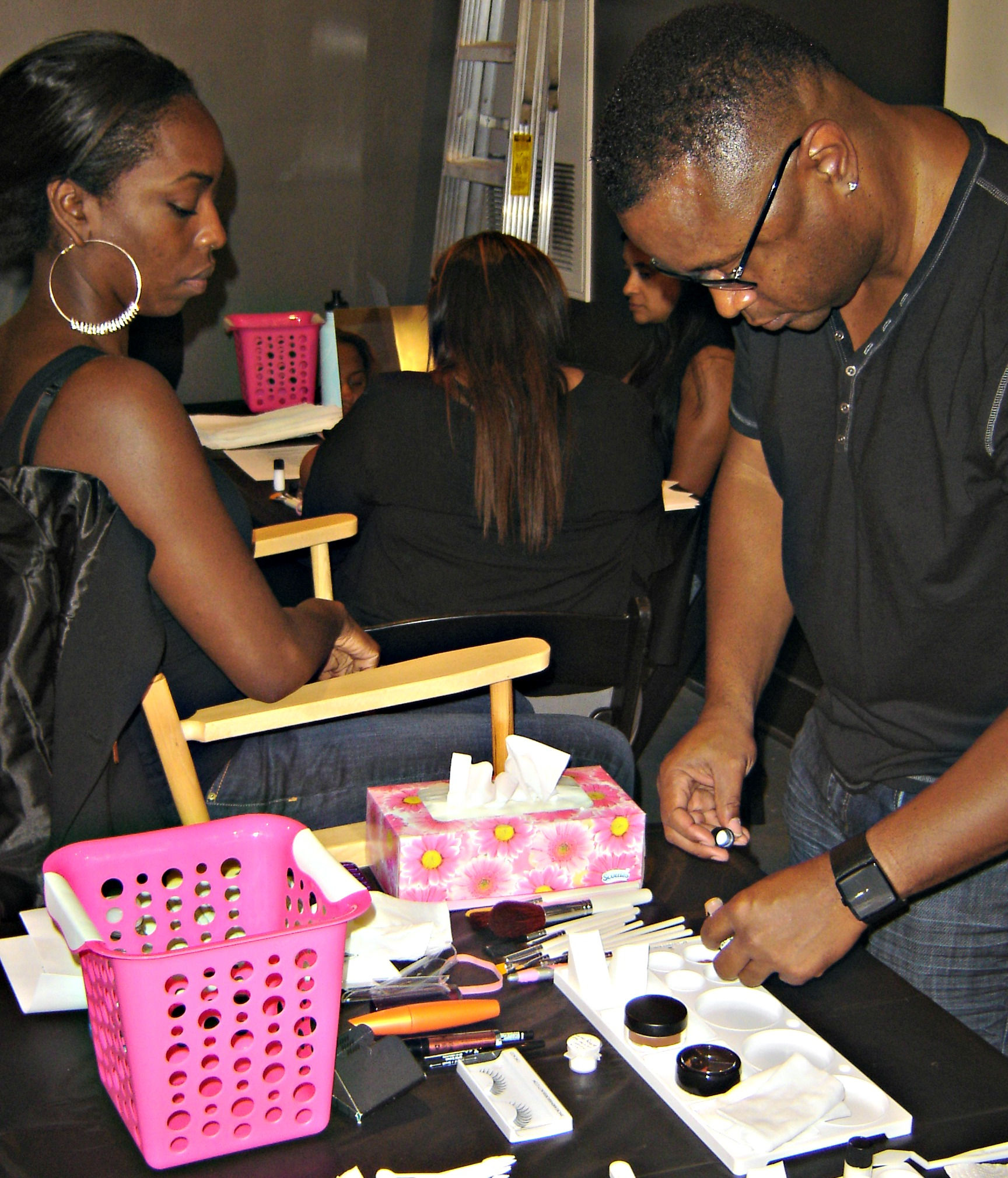 Saisha Beecham, Makeup Workshop, Makeup, Makeup Artist,
