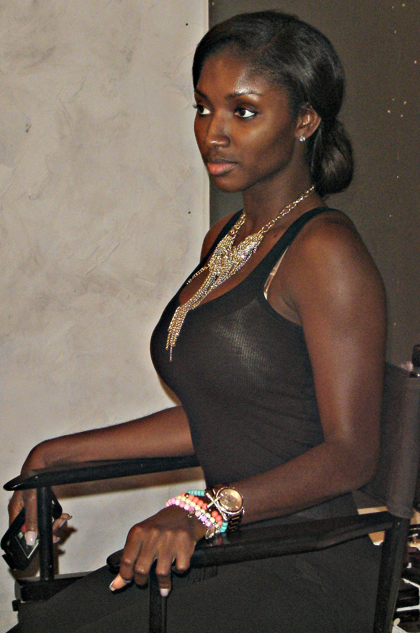 Saisha Beecham, Makeup Workshop, Makeup, Black Model